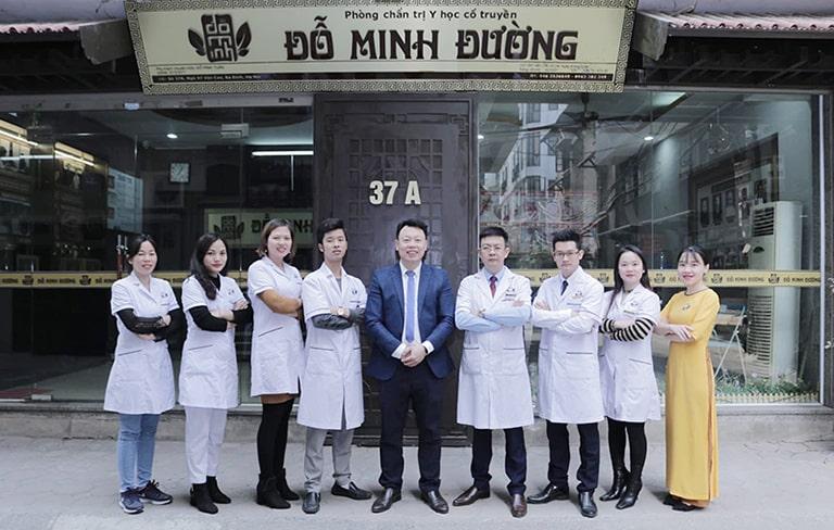 Đội ngũ bác sĩ nhà thuốc Đỗ Minh Đường