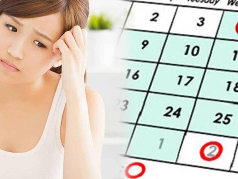 Rối loạn kinh nguyệt là một trong những dấu hiệu tiền mãn kinh phổ biến