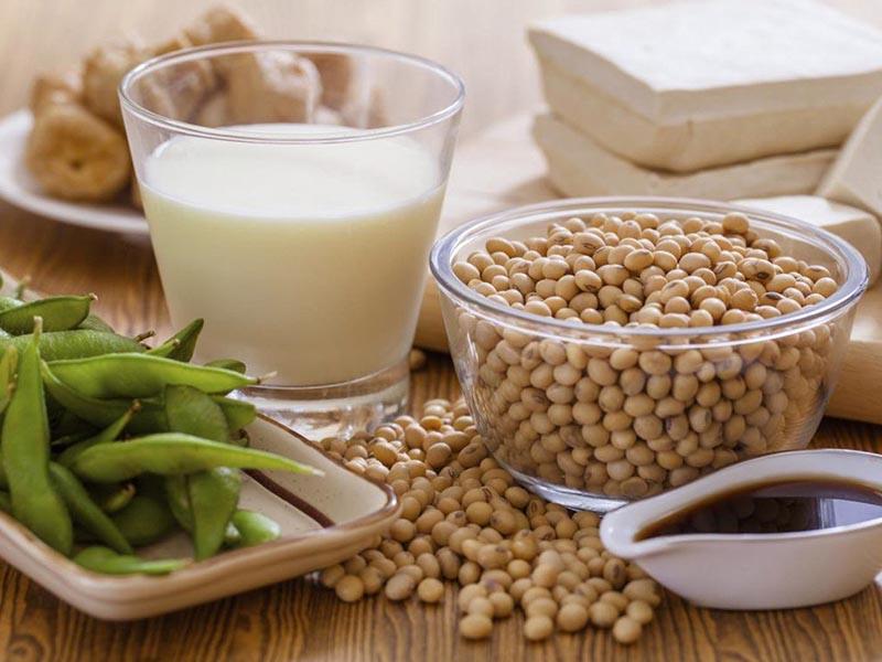 Đậu nành và các thực phẩm họ nhà đậu có chứa lượng estrogen lớn