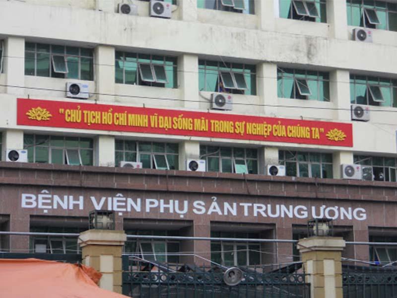 Bệnh viện phụ sản Trung Ương là địa chỉ khám tiền mãn kinh hàng đầu cả nước