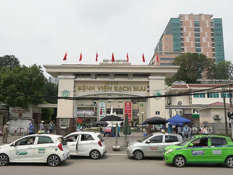 Bệnh viện Bạch Mai là một trong số những cơ sở khám chữa bệnh uy tín