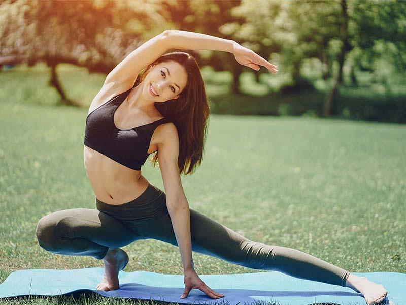 Rèn luyện lối sống lành mạnh, thường xuyên tập thể dục cũng là các để cải thiện các dấu hiệu trong thời kỳ tiền mãn kinh