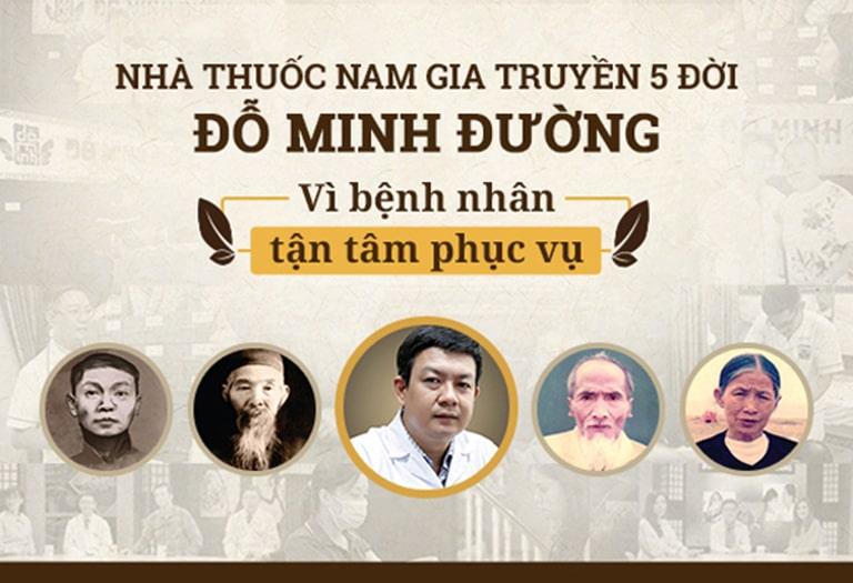 Nhà thuốc Đỗ Minh Đường có 5 đời khám chữa bệnh bằng y học cổ truyền