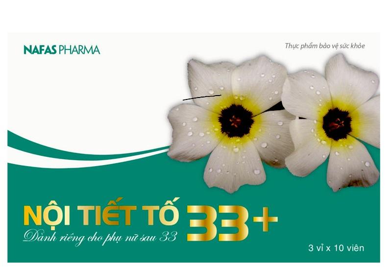 Sản phẩm nội tiết 33 rất an toàn, lành tính cho cơ thể, không gây ra tác dụng phụ