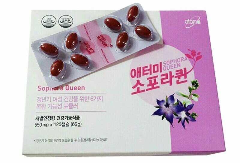 Atomy Sophora Queen sẽ giúp chị em làm giảm các triệu chứng đau đầu, mất ngủ, chóng mặt