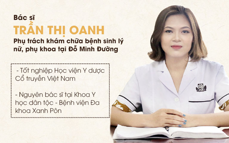 Lương y Trần Thị Oanh - Chuyên gia khám, chữa nhà thuốc Đỗ Minh Đường
