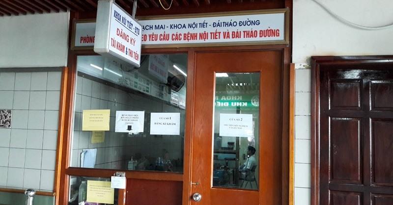 Khoa Nội tiết của bệnh viện Bạch Mai là địa chỉ khám bệnh uy tín