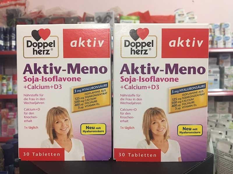 Doppelherz Aktiv Meno Rotklee được sản xuất và phân phối bởi thương hiệu tới từ Đức