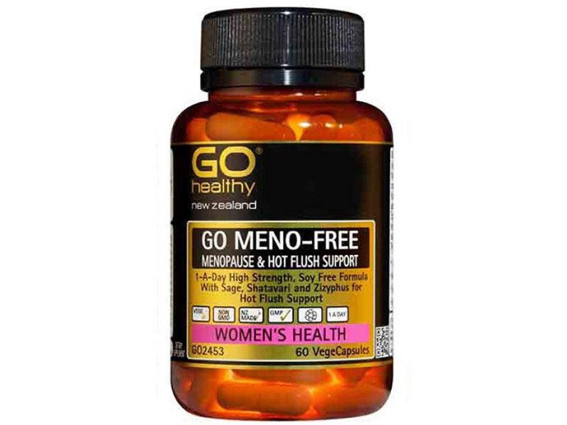 Go Meno Free có chứa nhiều thành phần chiết xuất từ thảo dược tự nhiên