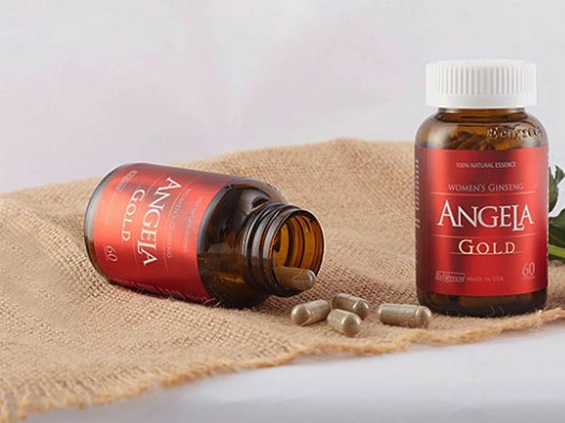 Sâm Angela Gold là viên uống có tác dụng cải thiện nội tiết tố nữ