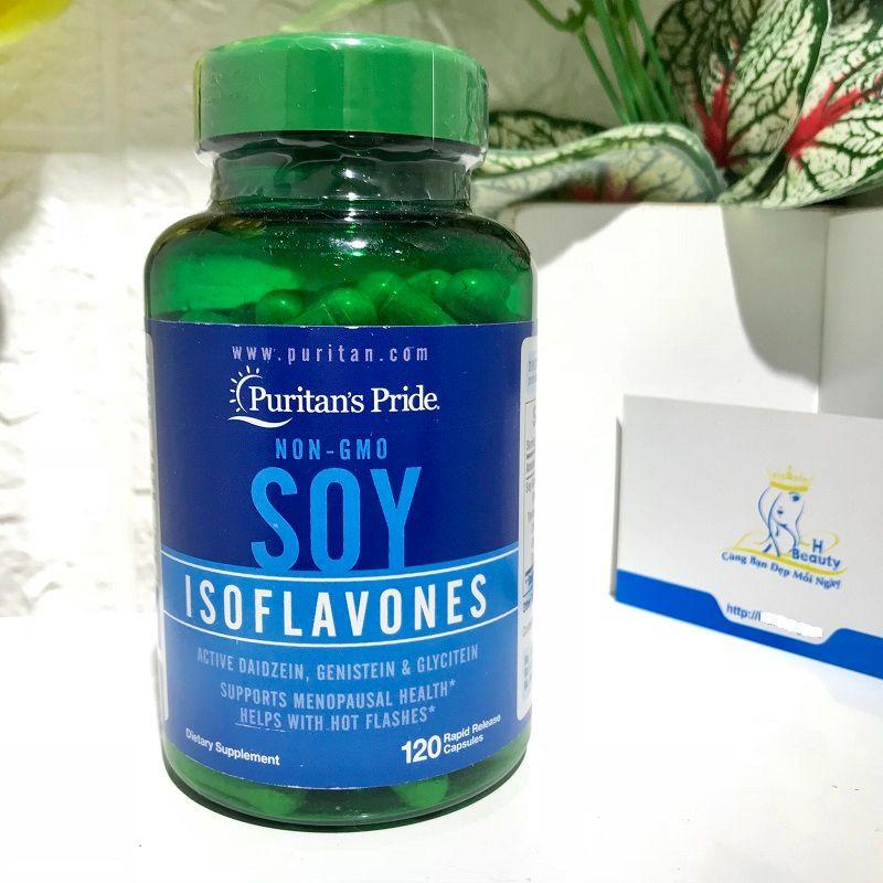 Natrol Soy Isoflavone là sản phẩm tăng nội tiết tố nữ hiệu quả
