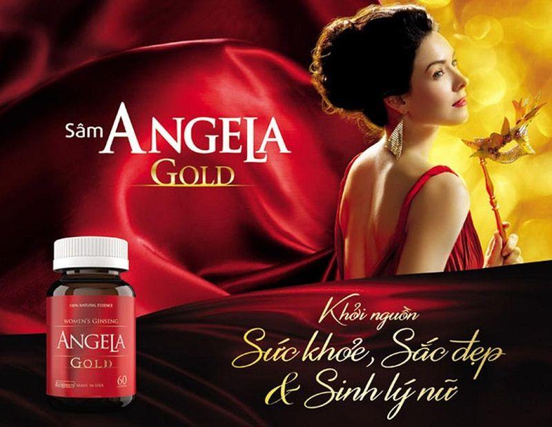 Sâm Angela Gold là sản phẩm được rất nhiều chị em tin dùng