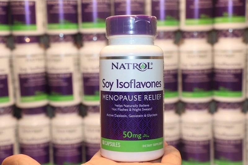 Viên uống Natrol Soy Isoflavone tăng nội tiết tố nữ chị em nên tham khảo
