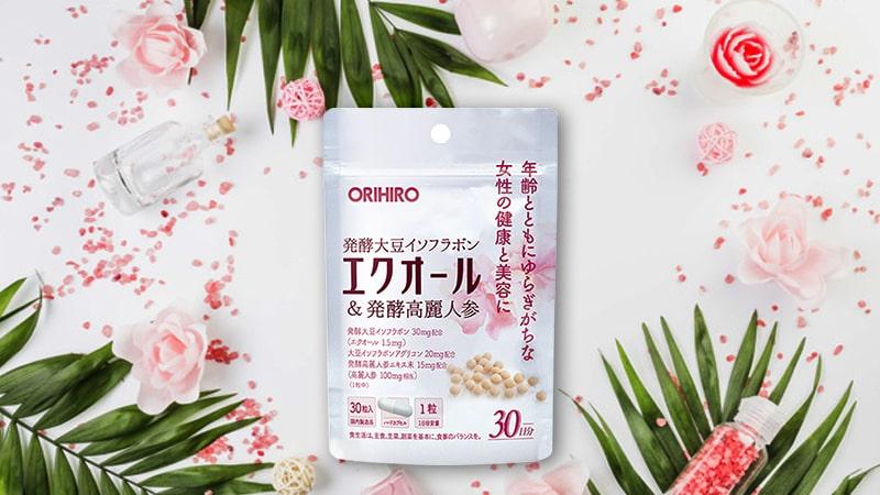 Viên uống Equol Orihiro chứa nhiều thành phần tự nhiên nên rất an toàn cho cơ thể