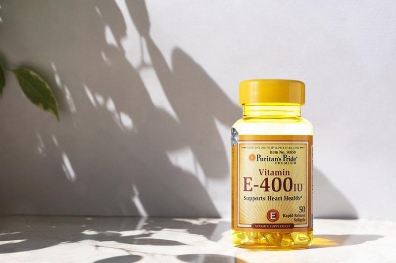 Vitamin E Puritan's Pride rất an toàn cho cơ thể không chứa các chất độc hại