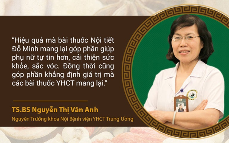 Bác sĩ Vân Anh đánh giá hiệu quả