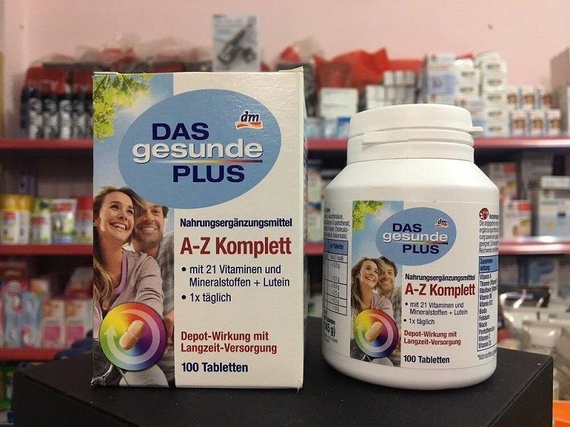 Das Gesunde Plus A – Z giúp chị em tăng cường sức khỏe, phòng chống lão hóa