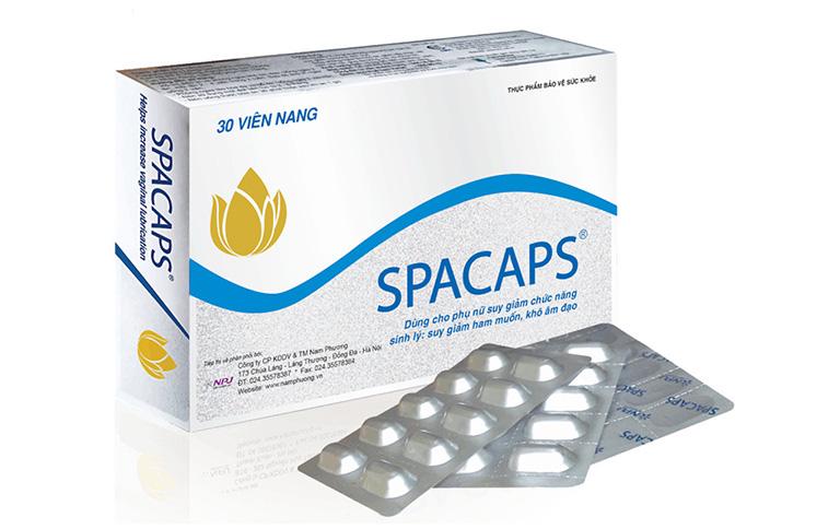 Thông tin, hình ảnh thuốc Spacaps