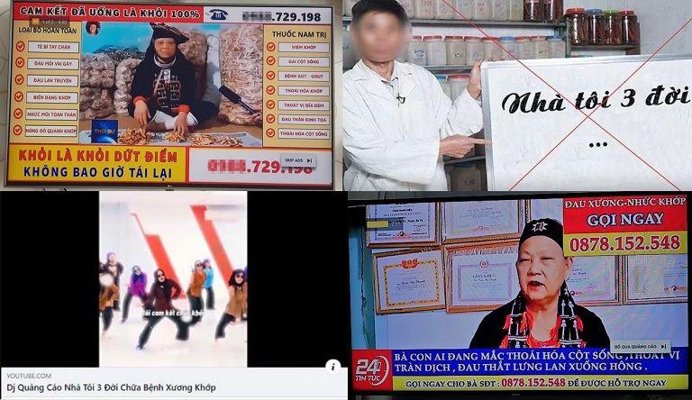 """Những quảng cáo """"nhà tôi 3 đời"""" tràn lan trên mạng xã hội chiếm đoạt niềm tin của người bệnh"""