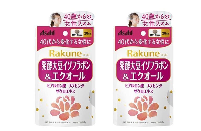 Rakune Asahi chiết xuất từ các thành phần tự nhiên giàu dưỡng chất