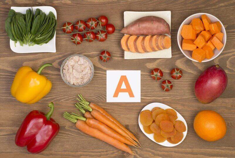 Vitamin A rất tốt trong việc chống lão hóa và tăng cường chức năng nội tiết, nuôi dưỡng bộ phận sinh dục nữ