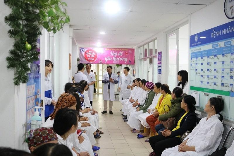Bệnh viện Phụ sản Trung ương là địa chỉ uy tín điều trị các bệnh phụ khoa
