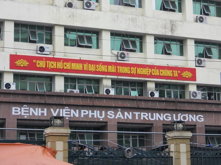 Bệnh viện phụ sản Trung ương - Địa chỉ khám chữa nội tiết hàng đầu