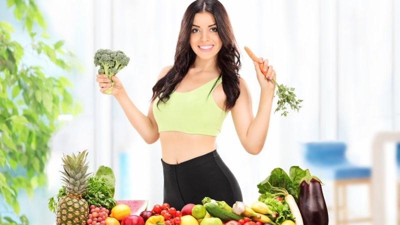 Chế độ dinh dưỡng khoa học sẽ giúp chị em tăng cường nội tiết tố, một làn da tươi trẻ