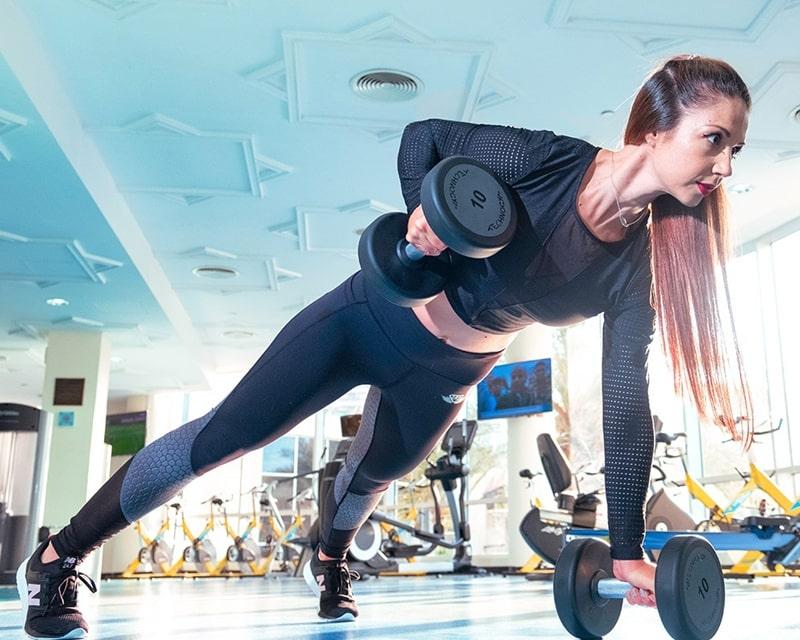 Khô hạn tuổi 40 do tập luyện thể dục thể thao ở cường độ cao
