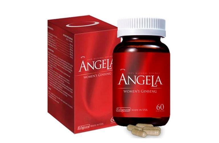 Sản phẩm sâm Angela Gold sản xuất tại Mỹ và nhập khẩu về Việt Nam