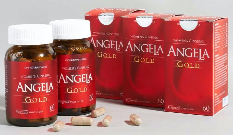 Sâm Angela Gold là thực phẩm chức năng được sản xuất tại Mỹ có nguồn gốc hoàn toàn từ thiên nhiên