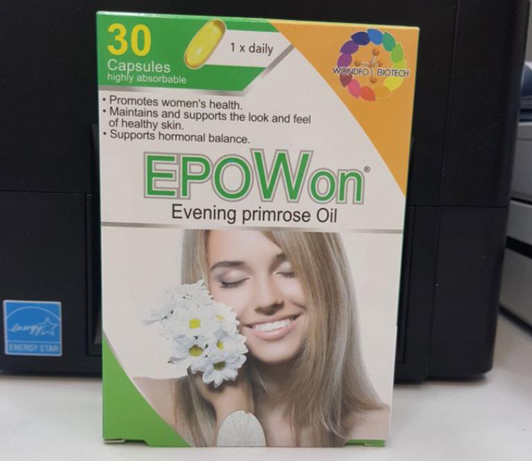 EpoWon Evening Primrose Oil cho phụ nữ mất cân bằng nội tiết tố