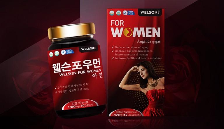 Welson For Women sản phẩm được chị em ưa chuộng