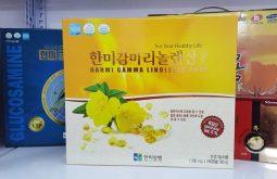 Viên uống tinh dầu hoa anh thảo Hàn Quốc Hanmi Gamma Linolenic Acid
