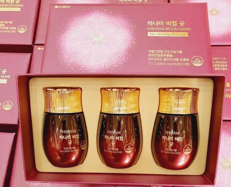 Viên uống nội tiết tố nữ Hàn Quốc Hanami Bcom Gung