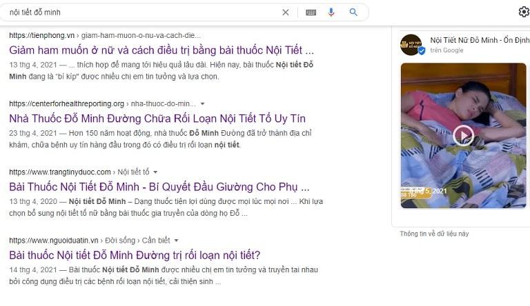 Lên mạng tìm kiếm thông tin cuối cùng chị Ly quyết định tin tưởng tới khám, chữa tại Đỗ Minh Đường