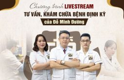 Chương trình livestream tư vấn, khám chữa bệnh của nhà thuốc Đỗ Minh Đường được tổ chức định kỳ hàng tuần