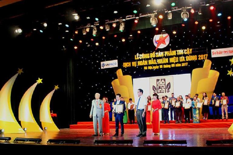 Nhà thuốc Đỗ Minh Đường vinh dự nhận các giải thưởng uy tín